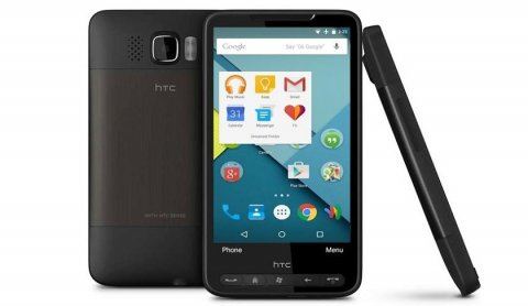 Android Marshmallow запустили на HTC HD2