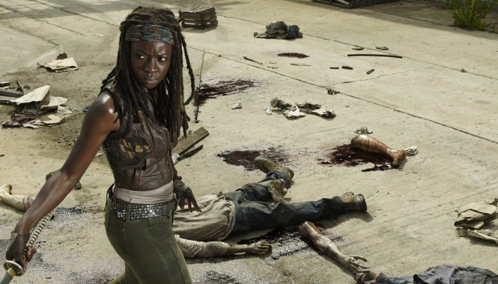 The Walking Dead: Michonne как игра в жанре Action