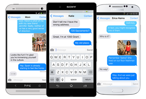 iMessage на Android