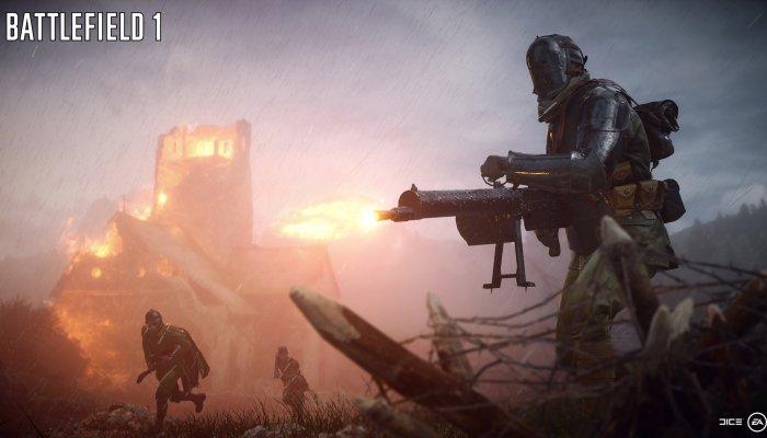 Стартовало открытое бета-тестирование Battlefield 1