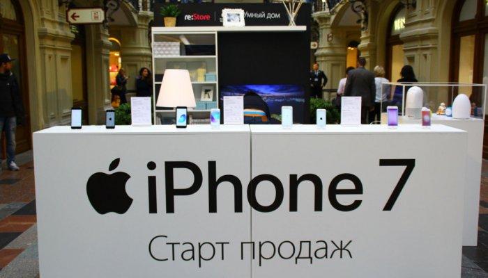 Специалисты шокированы триумфом продаж iPhone 7 в РФ